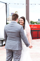 gilleys-dallas-wedding-aleman-photos-becca-jared-steel-city-pops-st.thomas-aquinas-church-sunflowers-black-dridesmaids-dresses-downtown-skyline012