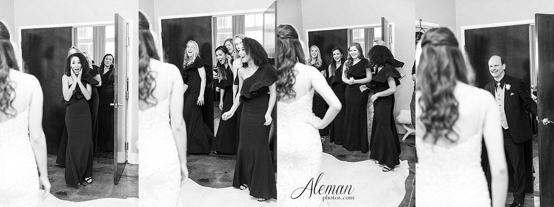 downtown-dallas-wedding-room-on-main-city-urban-skyscraper-formal-black-bridesmaids-dresses-012