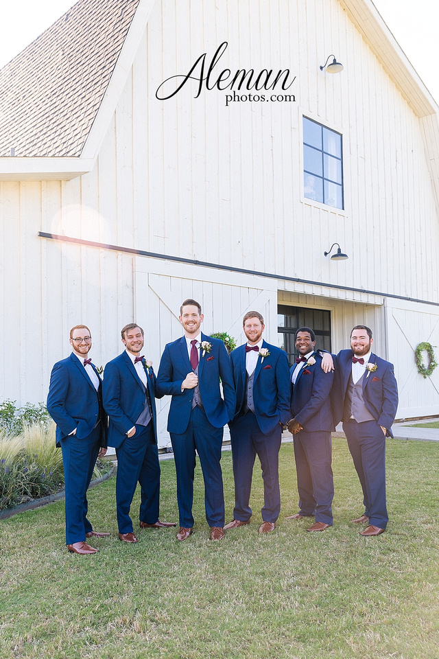 morgan-creek-barn-wedding-aubrey-denton-dallas-fort-worth-aleman-photos-outdoor-ceremony-blue-suits-texas-tech-maroon-converse-white-barn-brooke-michael-035