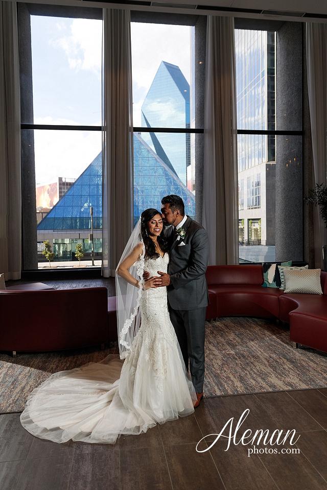 st-joseph-catholic-church-arlington-wedding-dallas-westin-downtown-urban-city-cityscape-el-fenix-pink-bridesmaid-dresses-gray-suit-navy-suit-fake-flowers-aleman-photos-mercedes-ian-005