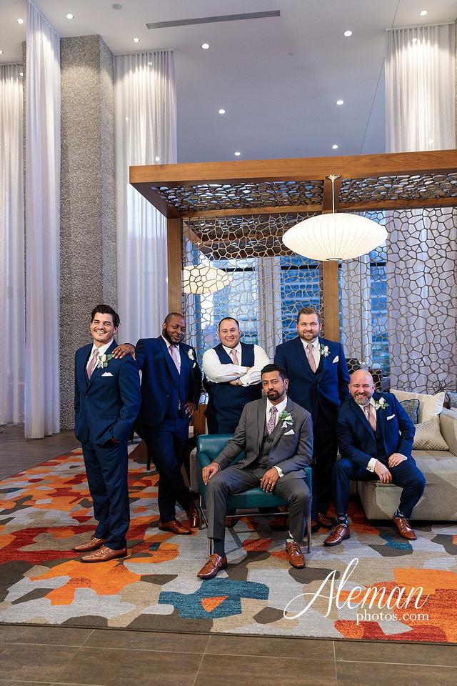 st-joseph-catholic-church-arlington-wedding-dallas-westin-downtown-urban-city-cityscape-el-fenix-pink-bridesmaid-dresses-gray-suit-navy-suit-fake-flowers-aleman-photos-mercedes-ian-009