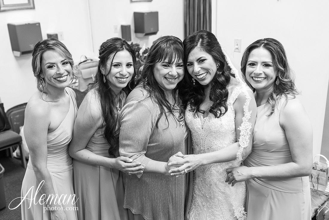 st-joseph-catholic-church-arlington-wedding-dallas-westin-downtown-urban-city-cityscape-el-fenix-pink-bridesmaid-dresses-gray-suit-navy-suit-fake-flowers-aleman-photos-mercedes-ian-020