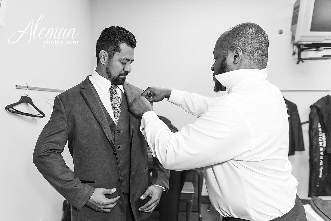 st-joseph-catholic-church-arlington-wedding-dallas-westin-downtown-urban-city-cityscape-el-fenix-pink-bridesmaid-dresses-gray-suit-navy-suit-fake-flowers-aleman-photos-mercedes-ian-025
