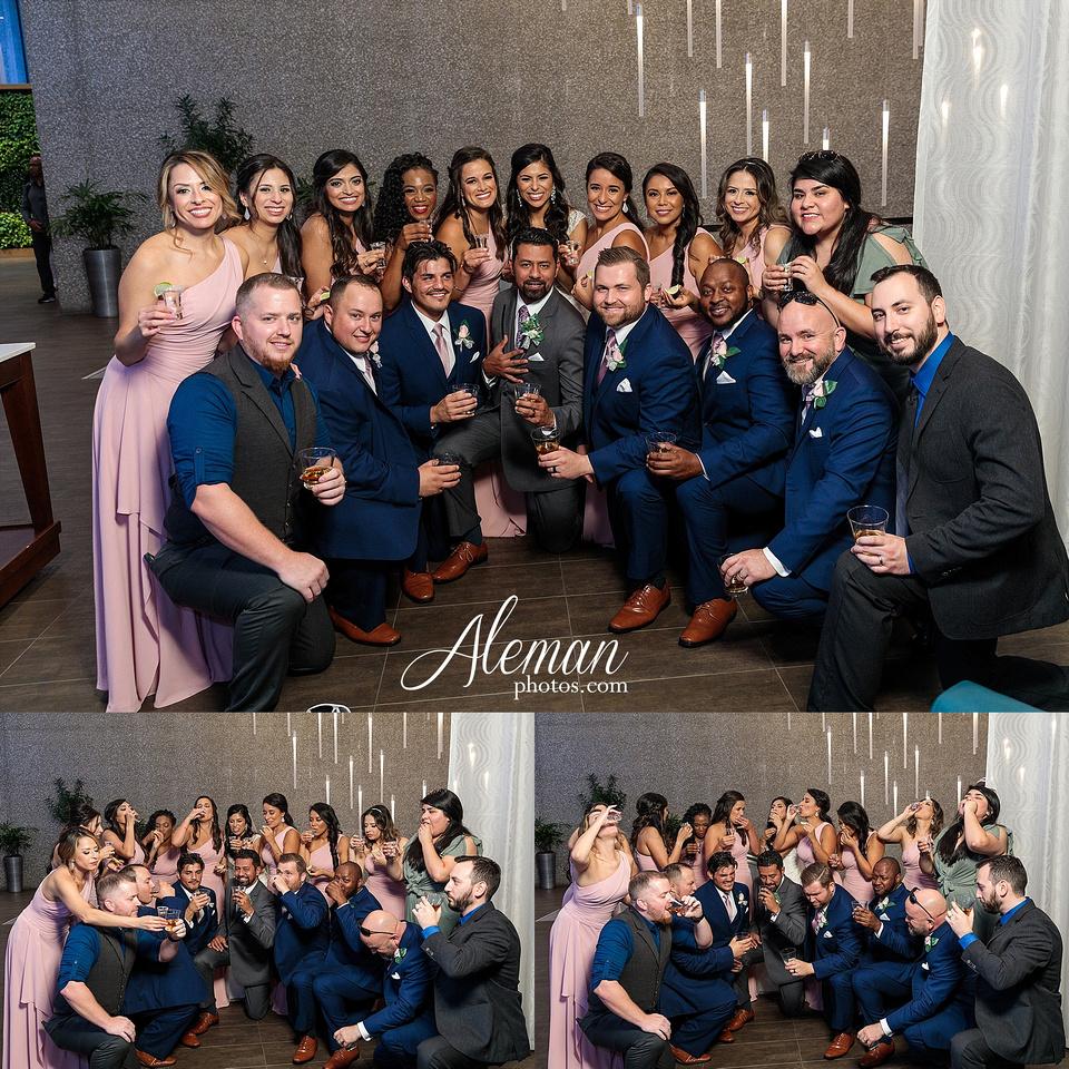 st-joseph-catholic-church-arlington-wedding-dallas-westin-downtown-urban-city-cityscape-el-fenix-pink-bridesmaid-dresses-gray-suit-navy-suit-fake-flowers-aleman-photos-mercedes-ian-045