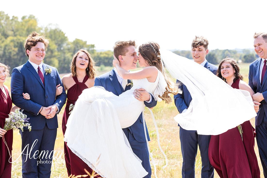 outdoor-field-bohemian-vera-wang-dress-rustic-wedding-grace-church-ovilla-wine-dark-red-bridesmaid-dresses-navy-suits-groom-tall-grass-aleman-photos-kaitlin-jason-006