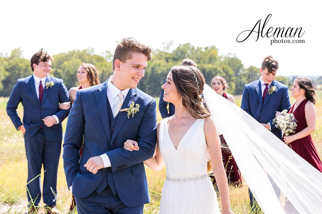 outdoor-field-bohemian-vera-wang-dress-rustic-wedding-grace-church-ovilla-wine-dark-red-bridesmaid-dresses-navy-suits-groom-tall-grass-aleman-photos-kaitlin-jason-008