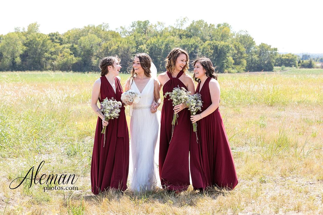 outdoor-field-bohemian-vera-wang-dress-rustic-wedding-grace-church-ovilla-wine-dark-red-bridesmaid-dresses-navy-suits-groom-tall-grass-aleman-photos-kaitlin-jason-009