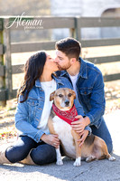 downtown-mckinney-engagement-session-fall-wedding-photographer-country-dog-pets-bandana-aleman-photos-005