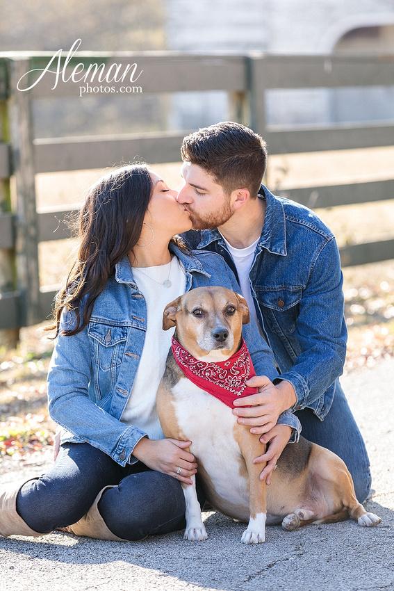 downtown-mckinney-engagement-session-fall-wedding-photographer-country-dog-pets-bandana-aleman-photos-005