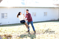 downtown-mckinney-engagement-session-fall-wedding-photographer-country-dog-pets-bandana-aleman-photos-009