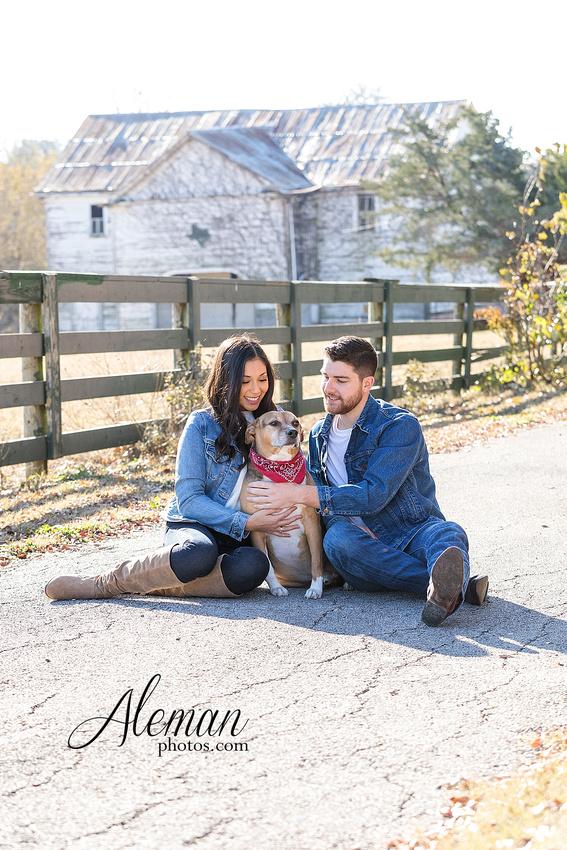 downtown-mckinney-engagement-session-fall-wedding-photographer-country-dog-pets-bandana-aleman-photos-016