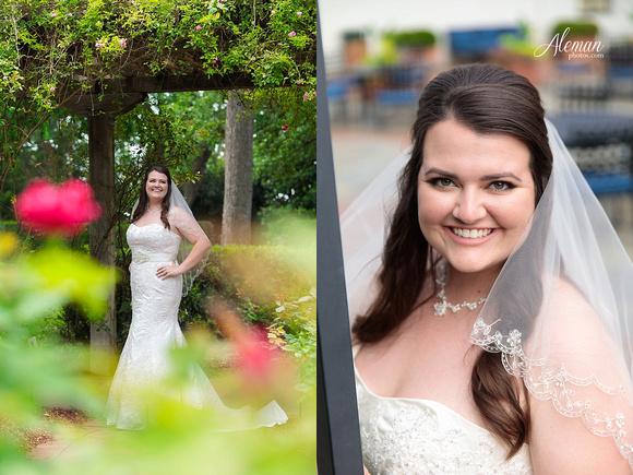 Dallas Arboretum Bridals Wedding Dress Portraits Outdoor Aleman