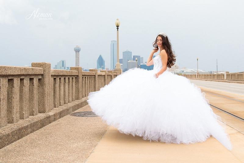 quince-portraits-teen-white-dress-dallas-skyline-arts-district-aleman-photos007