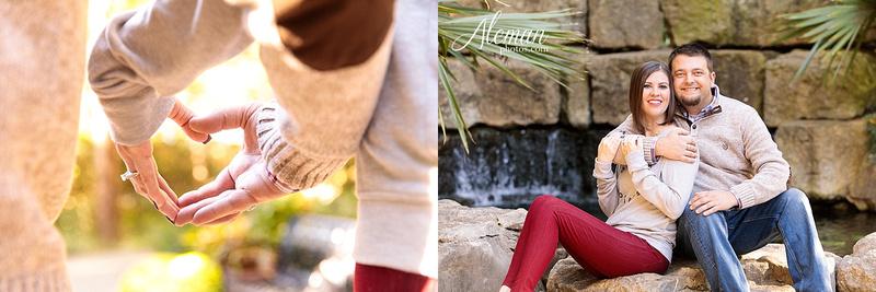 Fall Dallas Arboretum Engagement