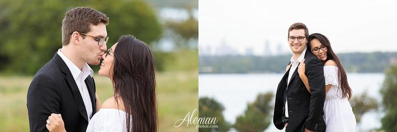 white-rock-lake-engagement-photographer-dallas-wedding-sunrise-sunset-dip-kiss-black-and-white-sam-brandon-aleman-photos015